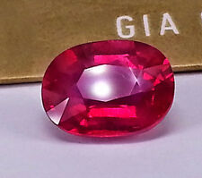 Striking Certified 5.06 cts  Ruby Red best of the best from Muzambique