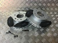 Merc Sprinter 200, 300 & 400 & VW crafter Front Brake Discs and Pads with Sensor