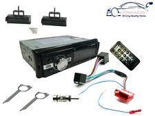 AUDI A2 99-05 STEREO AUTO testa dell' unità radio FM, Bluetooth AUX USB, FASCIA KIT, ISO