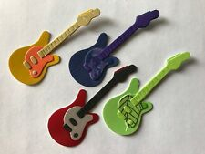 Electric Guitars Guitar Music Lessons Band Die Cuts (Card Toppers)