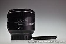 Quasi Mint Canon Ef 35mm F/2 Is USM