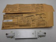 """Lot of 2 Cooper Lighting Halo L-903-P White Power Trac Straight Connector """"NOS"""""""