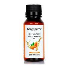 Ayurvedarg Greenberry Organic Sweet Almond Oil 50 ml