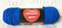 Red Heart Wintuk Acrylic Sport Yarn - 1 Skein Color Skipper Blue #846