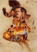 Inglourious Basterds Classic Movie Large Poster Art Print Maxi A1 A2 A3