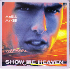 MARIA McKEE Show Me Heaven PICTURE SLEEVE TOM CRUISE - DAYS OF THUNDER 45 record