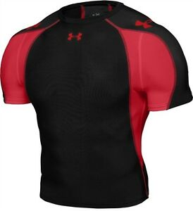 UNDER ARMOUR HeatGear Compression Running / Fitness / Gym - Top / Tee / Shirt