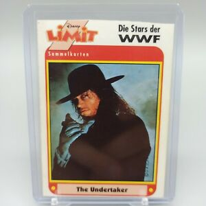 WWF The Undertaker Disney Limit German Extremely Rare Trading Card from 1991