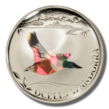 2012 Andorra Northern Shoveler 1 Diner Proof Prism coin