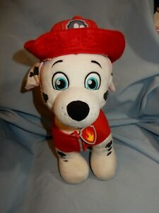 """Build A Bear Paw Patrol Marshall Fire Dog in Outfit 12"""""""