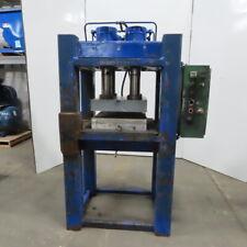 Hydraulic Compression Press 4 Post 4 Cylinder 3 Stroke 28wx31dx 22h