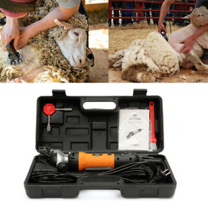 Professional Electric Animal Clippers Heavy Duty Horse Dog Pet Grooming Care Kit