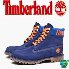 """Timberland Men's Size 11 6"""" Premium NBA  """"NEW YORK KNICKS"""" Boots Blue A2493E09"""