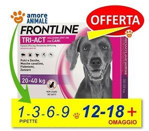 Frontline TRI-ACT per Cani da 20-40 kg  1 / 3 / 6 / 9 / 12 / 18 pipette - NEW