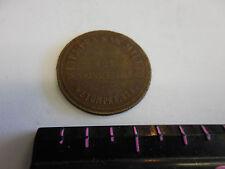 RARE R-10 WETUMPKA SAWMILL CO. WETUMPKA,ALA. 50 CENT TOKEN