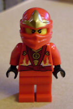 Lego Ninjago Figur - Kai Rebooted with ZX Hood ( 10722 rot Kay )  Neu
