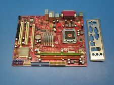 MSI MS-7529 (G31M3 V2) Intel Motherboard LGA 775 Socket with I/O Plate *Tested*