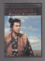 Samurai 1 - Musashi Miyamoto (DVD, 1998, Criterion Collection) First printing