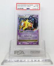 Pokemon PLATINUM GIRATINA LV X #124 ULTRA RARE HOLO FOIL CARD PSA 8 NM-MINT #*