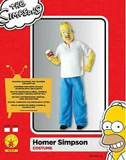 "The Simpsons Homer Simpson Fancy Dress Costume 880653 Adult XLarge 42"" 46"" chest"