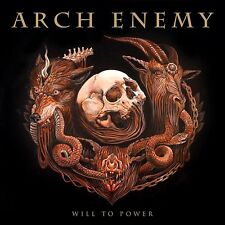 "Arch Enemy - Will To Power (NEW 12"" GREEN VINYL LP)"