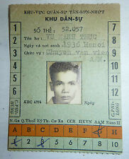 Military Area Pass - Tan Son Nhut Airbase - Saigon - 1968 - Vietnam War - 2899
