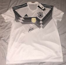 BASTIAN SCHWEINSTEIGER SIGNED GERMANY NATIONAL TEAM SOCCER JERSEY FIFA CUP+COA!