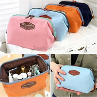 Women Large Travel Makeup Bag Pouch Cosmetic Purse Stationery Beauty Case Bag LP