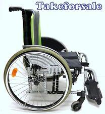 Rollstuhl Otto Bock Modus XL Sitzbreite 50cm mit Fussbrett TFS213
