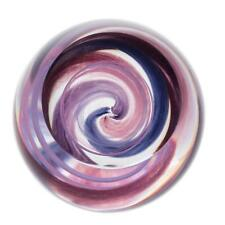 Caithness Glass U18040 Retro Purple Vortex Paperweight