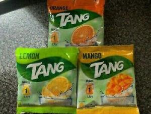 Tang Mango Lemon Orange Juice Drink Vitamin A B C Iron Powder Instant 1 Litre
