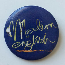RARE Vintage 1990 MODERN ENGLISH pin Pillow Lips pinback button badge TVT