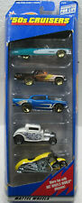 Hot Wheels (1998)'50s CRUISERS 5 PACK 57 CHEVY, CADDY,TBIRD IN UNOPENED BOX
