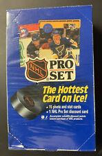 1990 Pro Set Hockey Wax Box Series 1 FACTORY SEALED BILINGUAL NEW