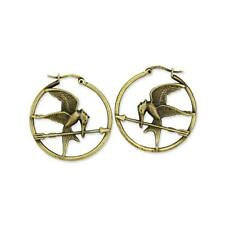 THE HUNGER GAMES Movie Mockingjay Bird Hoop Earrings New in package from NECA