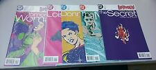 1998 DC 5 Comics lot GIRLFRENZY! Lois Lane Donna Troy Secret Tomorrow Woman Mist