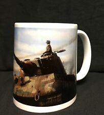 Custom WWII German King Tiger Tank Coffee Mug 101st SS Heavy Panzer Battalion