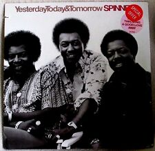 Spinners Yesterday Today & Tomorrow 1977 Atlantic # SD 19100 DISCO Sealed LP