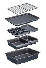 MasterClass Smart Space Non-Stick Carbon Steel Stackable Bakeware Set 7 Pieces