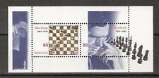 NEDERLAND 2001 / BLOK MAX EUWE  / SCHAKEN CHEST / NVPH 1969 / POSTFRIS MNH ***