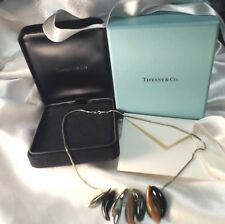 Tiffany & Co Frank Gehry Seven Fish Necklace 16 Inch Pendant Sterling Silver 925