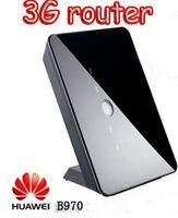 Unlocked Huawei B970 3G Wireless Modem HSDPA 7.2 Mbps Mobile Wifi Router Hotspot