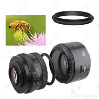 Male to Male Lens Ring 49mm-58mm 49 to 58 Macro Reverse Ring Adapters