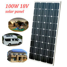 100W solar panel battery charging & cable 200W 300W 400W 500W for Home Camp RV