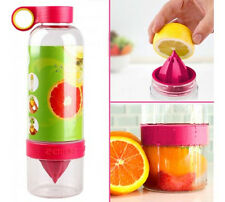 Citrus Zinger RED Drinking Water Bottle Press Twist Infuse Flavour New