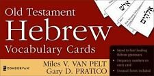 Old Testament Hebrew Vocabulary Cards (Cards)