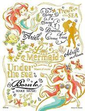Jigsaw Puzzle Disney Princess Colorful Gold Ariel 300 Piece [Bubble Wrap] (16.5