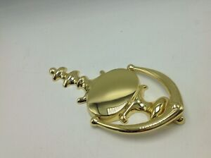 """Solid Brass Door Knocker Classic Colonial  8 1/2"""" Polished Shiny Metal Shield"""