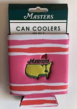 2021 Masters golf coozies can coolers ladies beach colors augusta national new