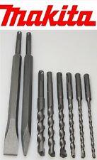 Original Makita sds-plus perceuse 5,6,8,10,12,14 mm 160 MM + pointu burins + plat burins